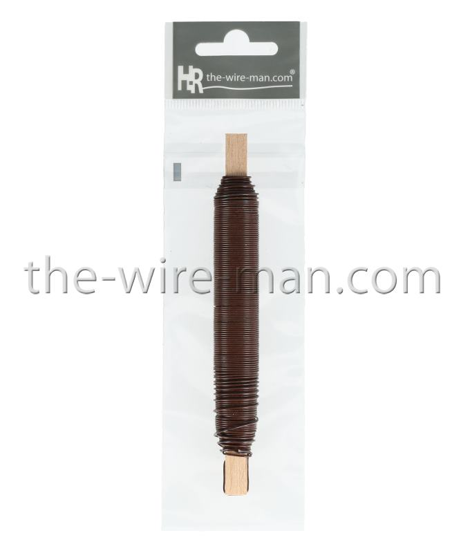 Binding Wire On Wooden Peg - the-wire-man.com