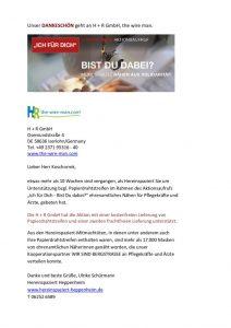 thumbnail of Danke! H + R GmbH